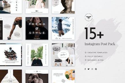 Stilvolle Instagram Stories Vorlage