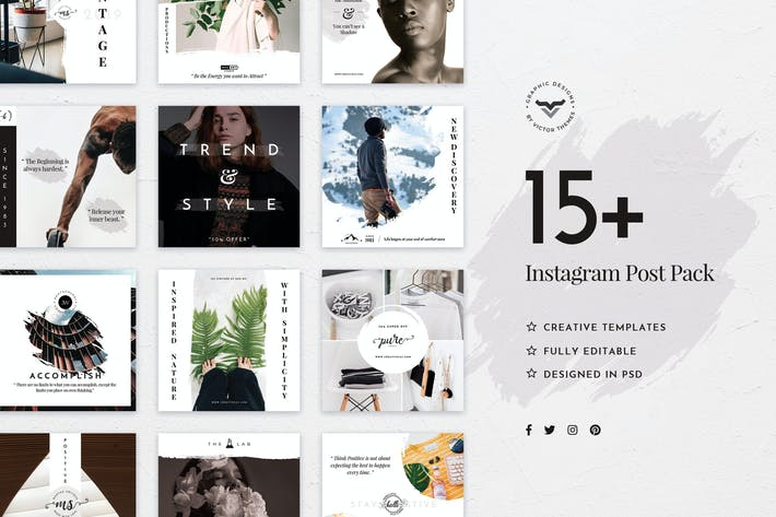 Thumbnail for Stylish Instagram Stories Template