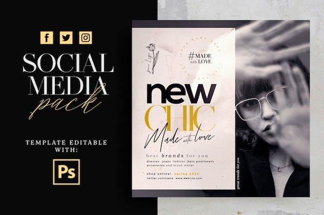 New Chic Social Media Pack