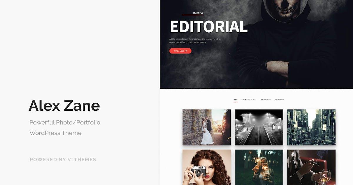 Download Alex Zane - Photo/Portfolio WordPress Theme by VLThemes