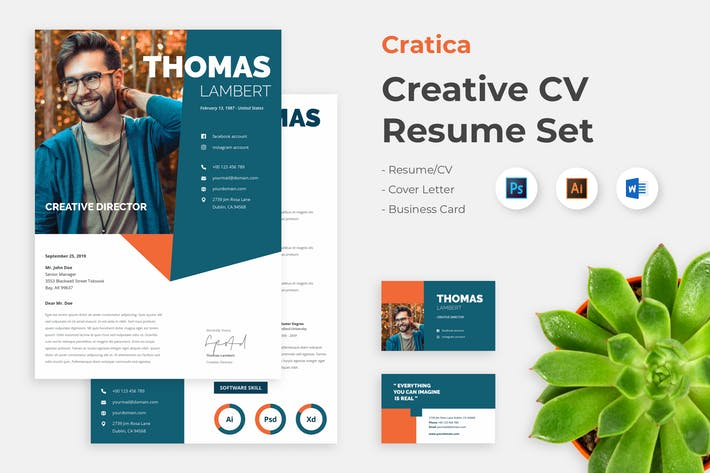 Thumbnail for CV Resume Creative