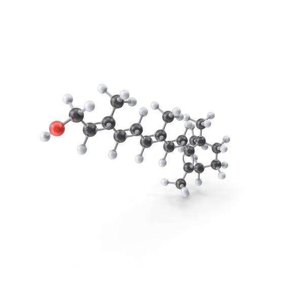 Thumbnail for Vitamin A (Retinol) Molecule