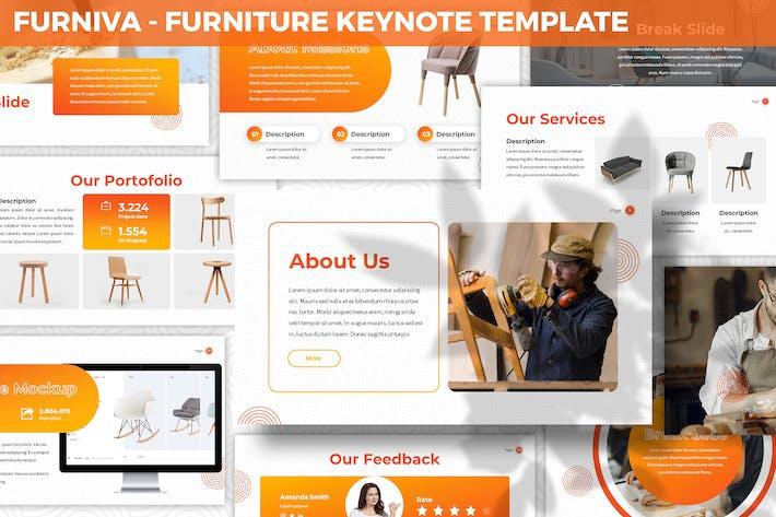Thumbnail for Furniva - Furniture Keynote Template