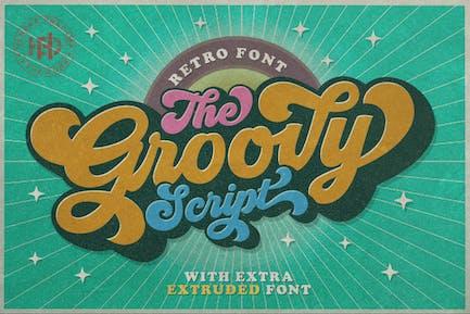 Groovy - Fuente Retro
