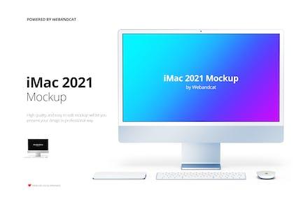 iMac Display Mockup
