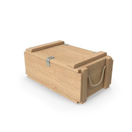 Военный деревянный ящик
