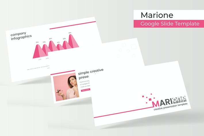Thumbnail for Marione - Google Slides Template