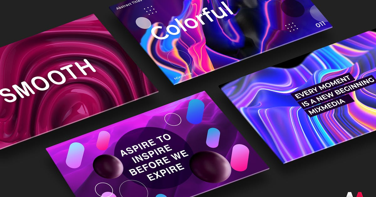 Download Abstract Titles V2 by mixmedia87