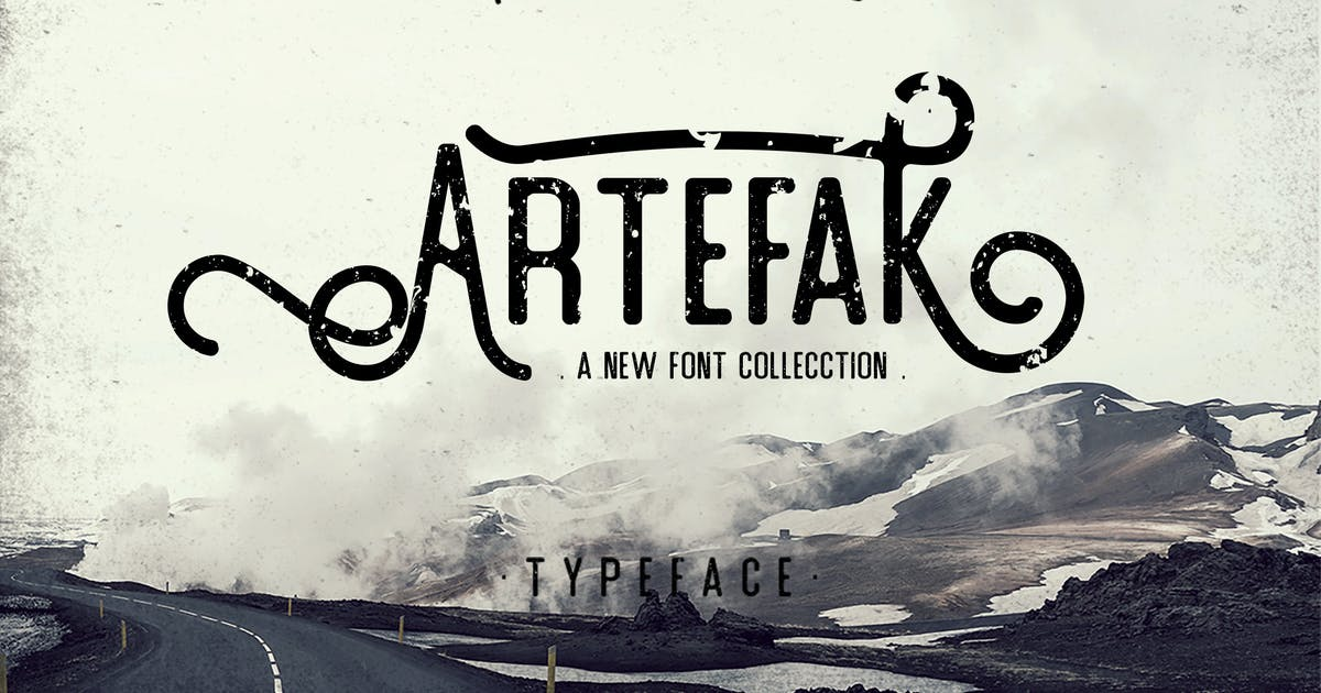 Download Artefak Typeface by Sizimon-id