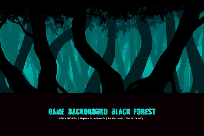 Game Background Black Forest