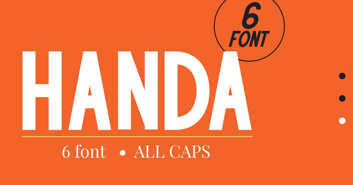 Download Handa by Attype-Studio