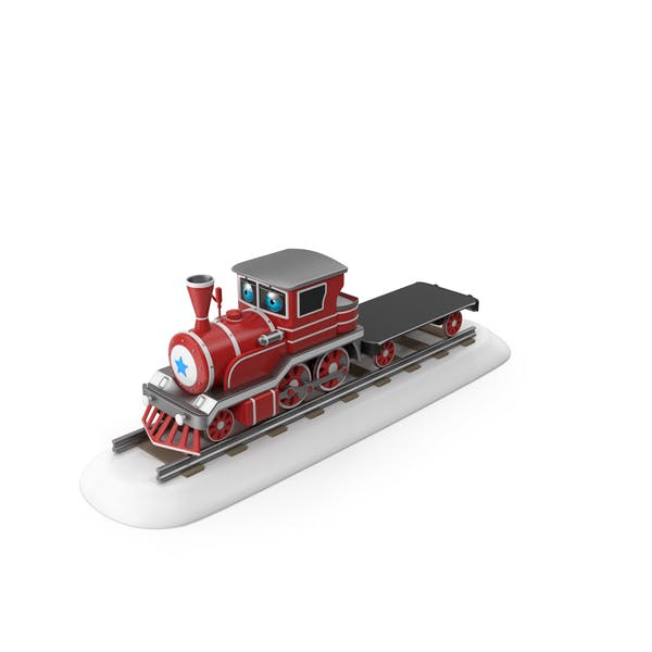Cartoon Toy Train