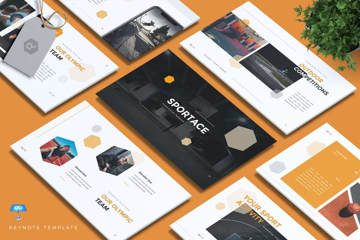 Thumbnail for SPORTACE - Sport Keynote Template