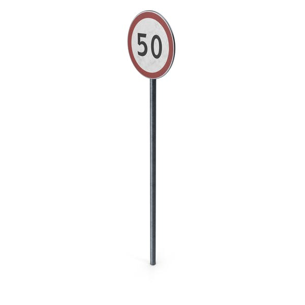 Thumbnail for Traffic Sign Maximum Speed With Pole