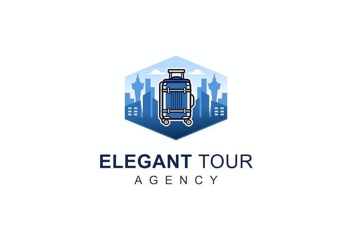 Thumbnail for Elegant Tour Logo Template