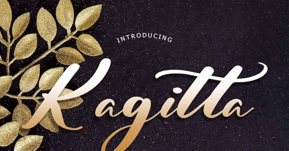 Download Kagitta Modern Font by Formatika