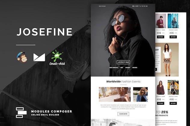 Josefine - E-commerce Responsive Email Template
