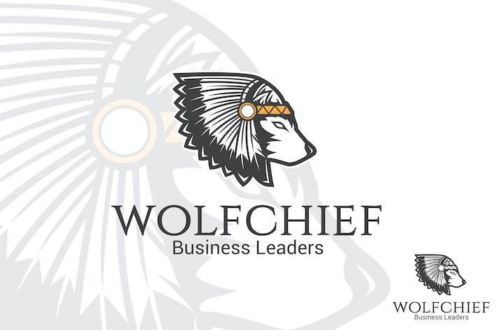 Wolf Chief Vector Logo Mascot