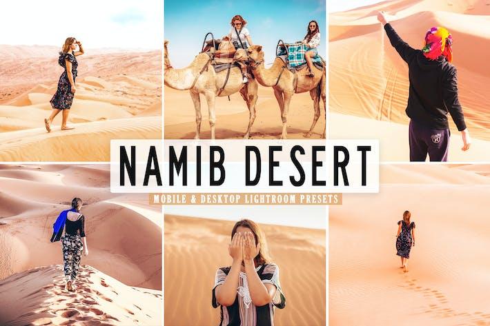 Thumbnail for Namib Desert Mobile & Desktop Lightroom Presets