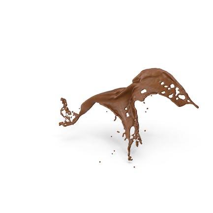 Salpicón de chocolate