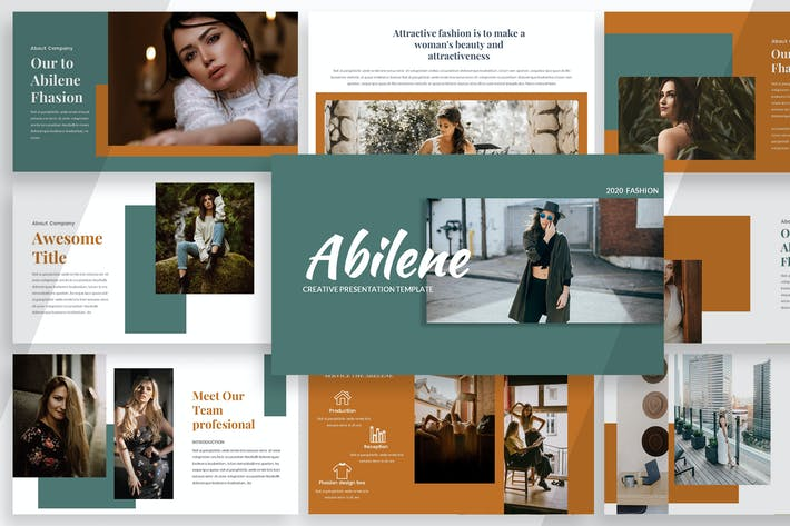 Abilene - Creative Powerpoint Template