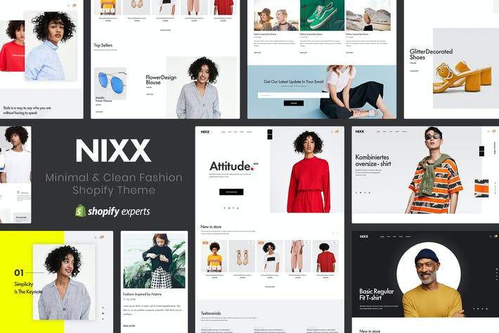 Thumbnail for NIXX | Minimal & Clean Fashion Shopify Theme