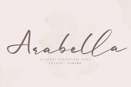 Arabella   Elegant Signature Font