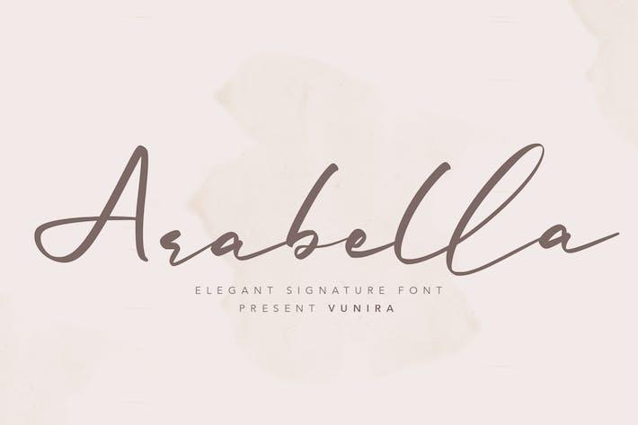 Thumbnail for Arabella | Elegant Signature Font