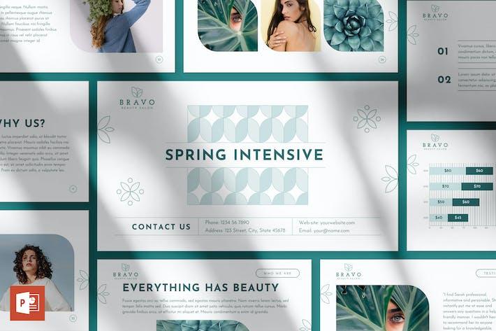 Thumbnail for Beauty Salon PowerPoint Presentation Template
