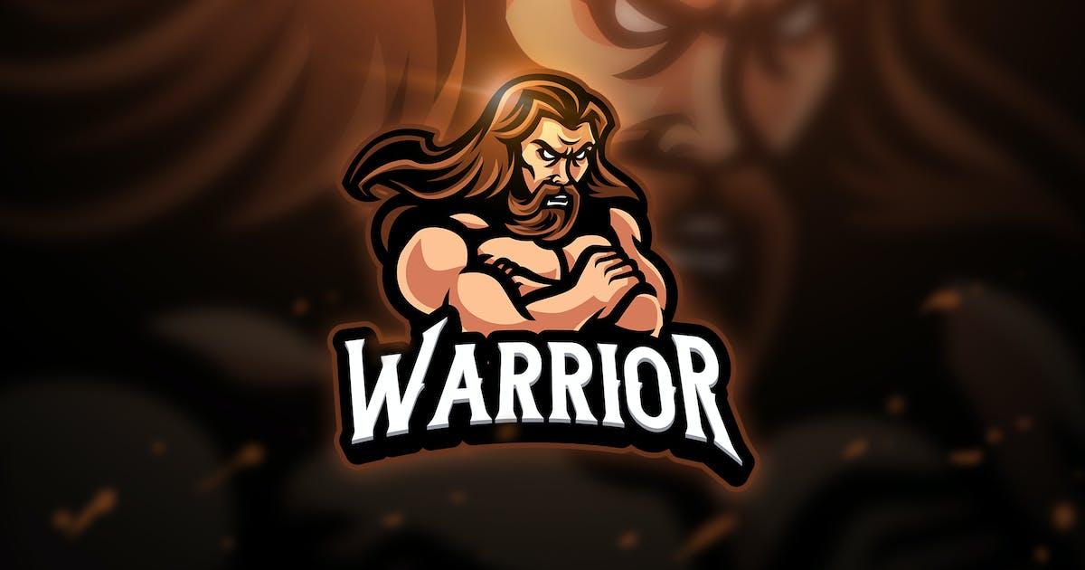 Warrior - Mascot & Esport Logo by aqrstudio