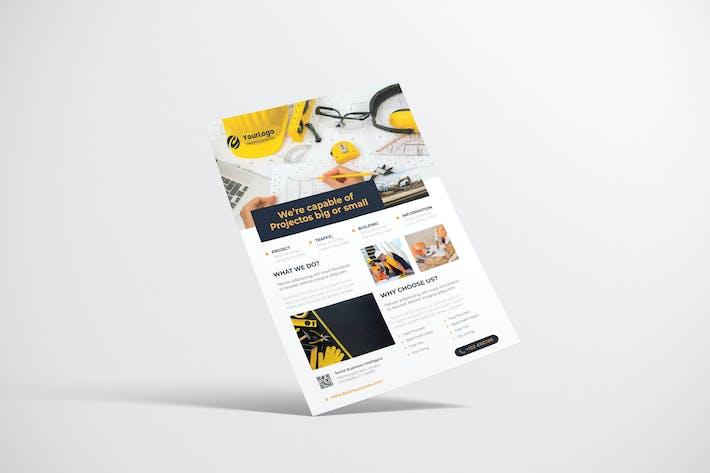 Thumbnail for Contrction Flyer Design