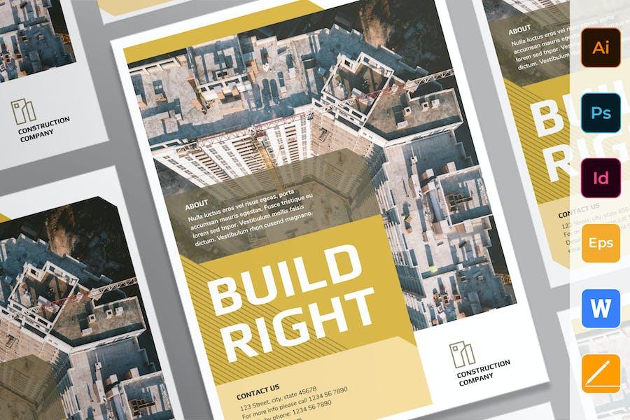 Construction Company Poster