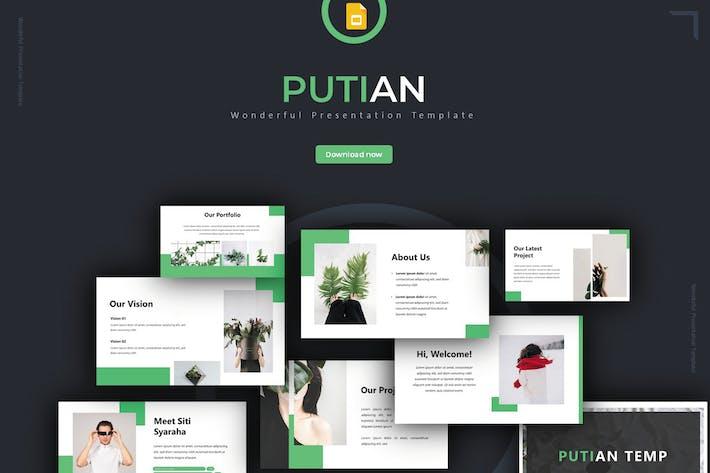Thumbnail for Putian - Google Slides Template
