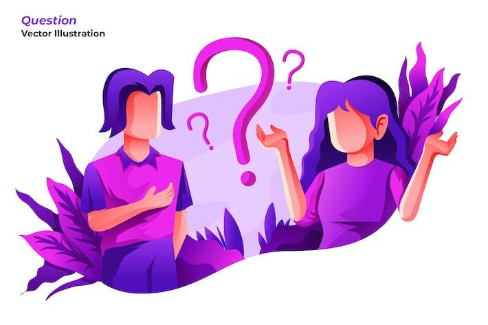Frage - Vektor darstellung
