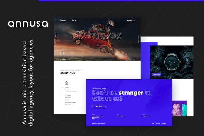 Annusa | Modèle HTML de boulangerie numérique moderne