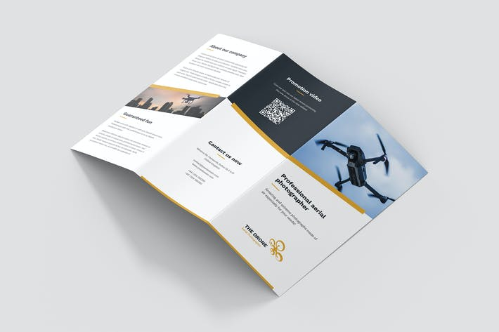Thumbnail for Brochure – Drone Photographer Tri-Fold