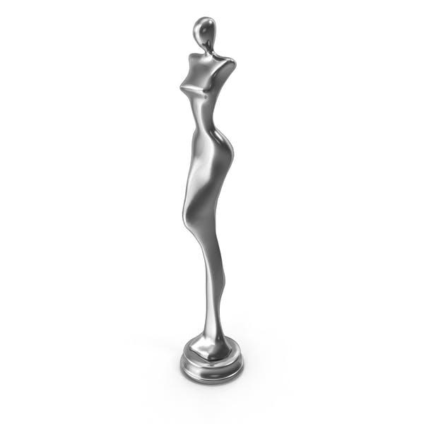 Woman Statue Steel