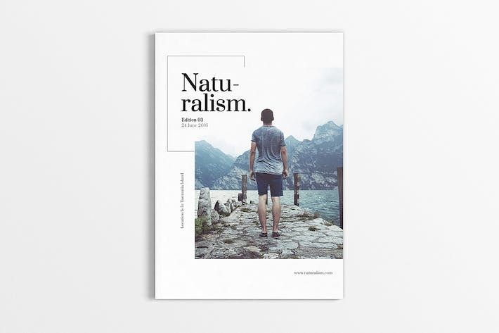 Cover Image For Naturalism Magazine