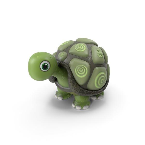 Cartoise Schildkröte