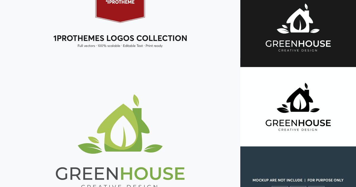 Download Green House Logo Template by 1protheme