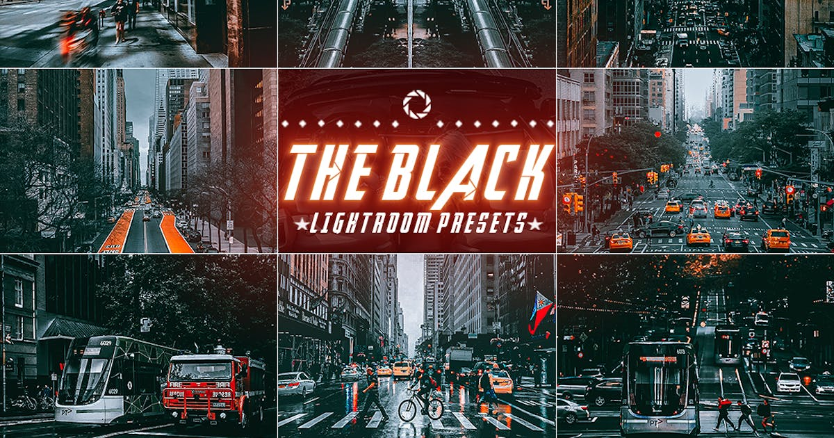 Download The Black Cinematic lightroom Presets by 2lagus