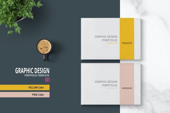 Graphic Design Portfolio Template by adekfotografia on Envato Elements
