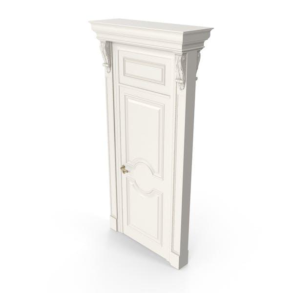 Viktorianische Tür im Klassisch Stil