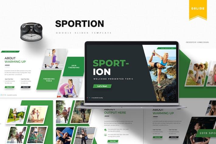 Thumbnail for Sportion   Google Slides Template