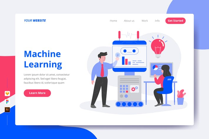 Thumbnail for Machine Learning - Landing Page