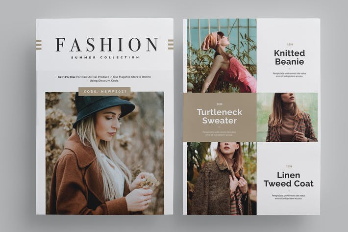 Cover Image For Fashion Promo Flyer