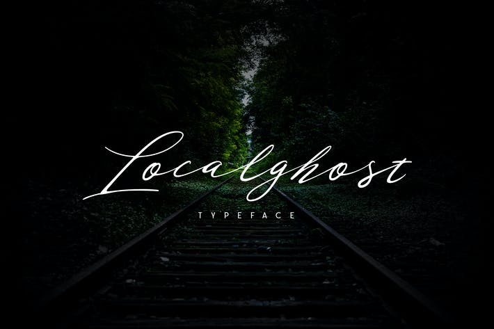 Thumbnail for Localghost Typeface
