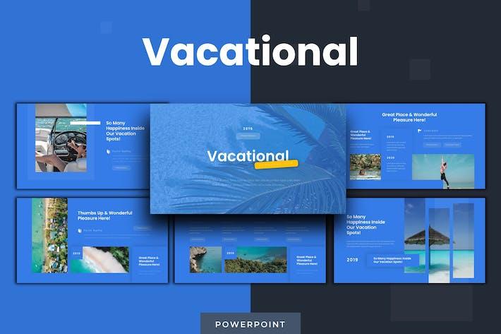 Vacational - Шаблон Powerpoint
