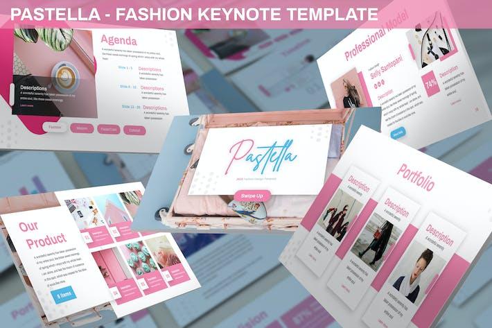 Thumbnail for Pastella - Fashion Keynote Template