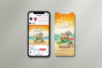 Instagram-Set Sommerangebot